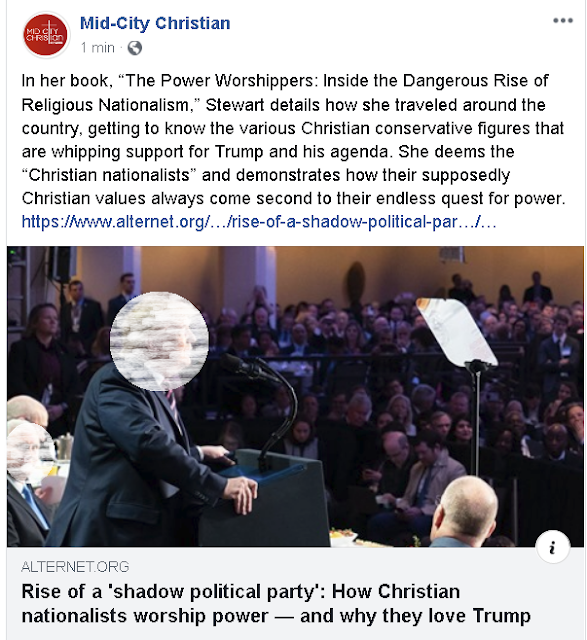 https://www.alternet.org/2020/03/rise-of-a-shadow-political-party-how-christian-nationalists-worship-power-and-why-they-love-trump/?utm_source&utm_medium=email&utm_campaign=3875&fbclid=IwAR2pY82_5ZThz0ys-6NQDIm0DsYdGK3FTHM74Jh6URCqYVcgnGrtJDuuK5c