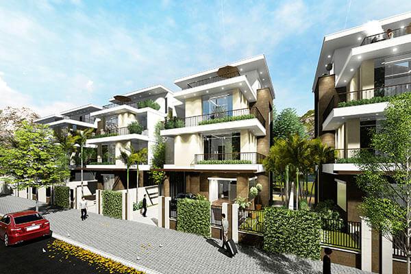 Biệt thự đơn lập tại dự án Mon Bay Hạ Long
