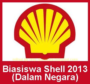 Biasiswa Shell Malaysia 2013 - Dalam Negara