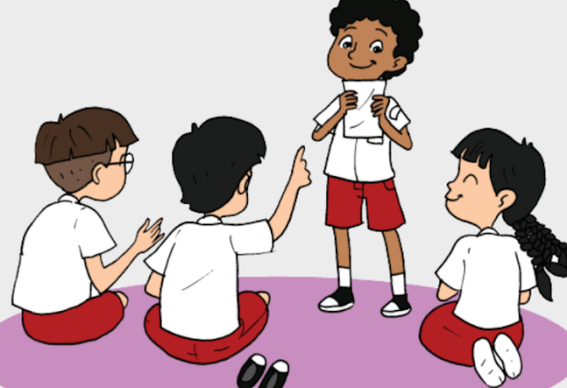 "Materi Kelas 6 SD/MI Bahasa Inggris ""I Love Reading in Unity Diference"""