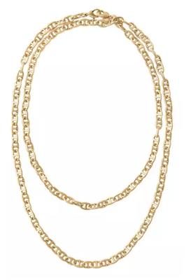 Stella & Dot Versatile Gold Chain Necklace