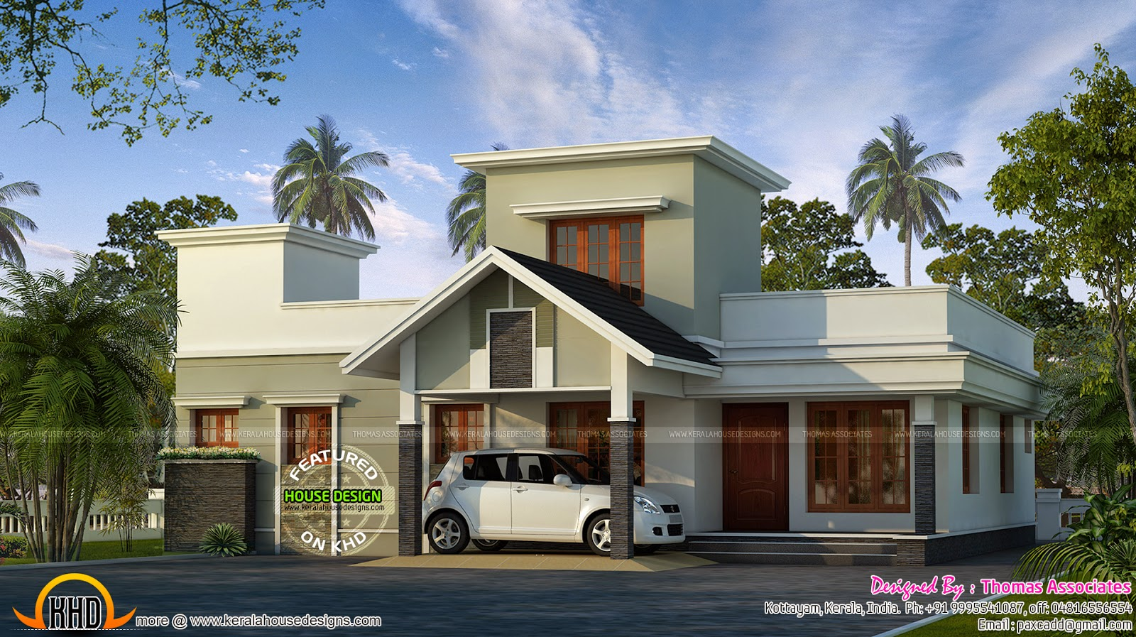 Mid Budget House Plan Kerala Home Design And Floor Plans