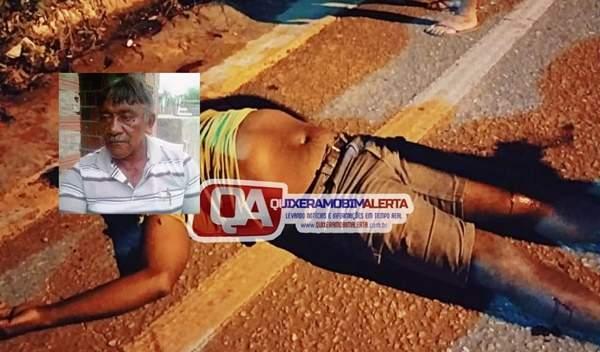 Motociclista tem braço arrancado em acidente no Quixeramobim
