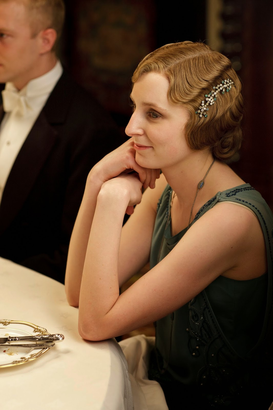 1038 best Downton Abbey Inspired Clothing for Sale images ... |Edith Downton Abbey Hair