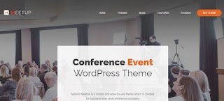 Meetup Conference Event Responsive WordPress Themes