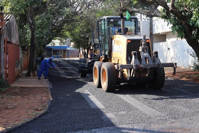 Infraestrutura: Jardim São Paulo recebe nova etapa de pavimentação asfáltica