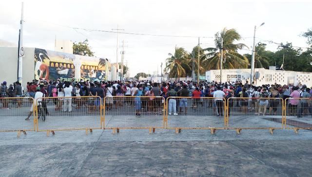 Desalojan a inconformes con resultados de las elecciones en Progreso