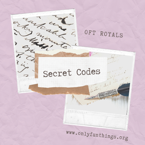 Secret Codes, Ciphers, and More! – OFT Royals Lesson