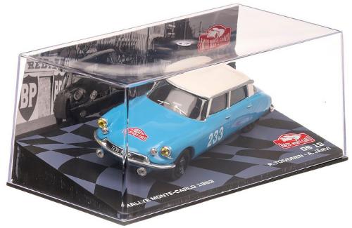 collezione rally monte carlo Citroen DS 19 1963Pauli Toivonen - Anssi Järvi