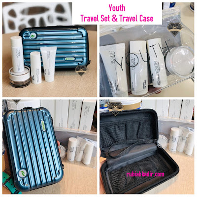 Youth Travel Set & Travel Case