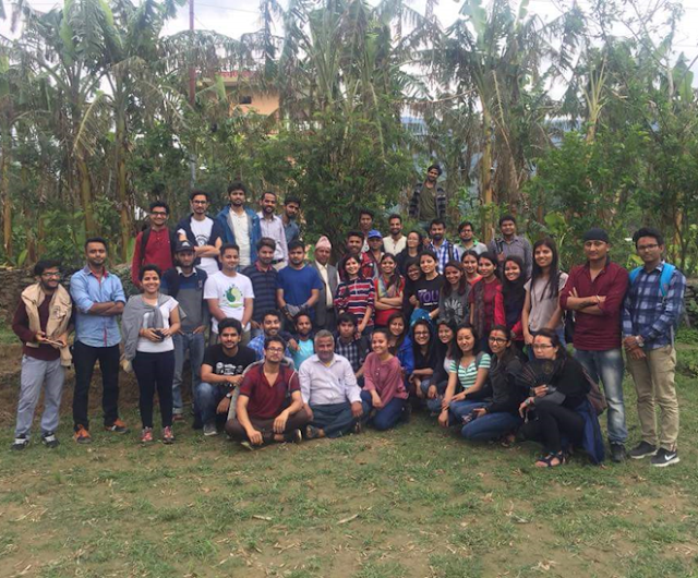 Agroforestry and Food Security Status in Nepal-- group photo
