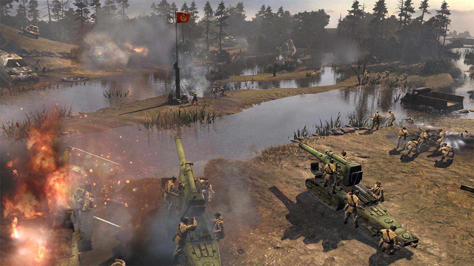 تحميل لعبة Company Of Heroes مضغوطة برابط واحد مباشر كاملة مجانا