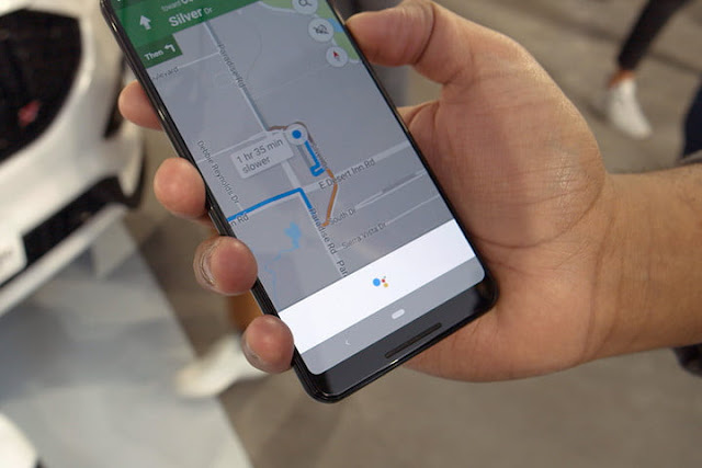 Using Google Voice Assistant For Finding Locations