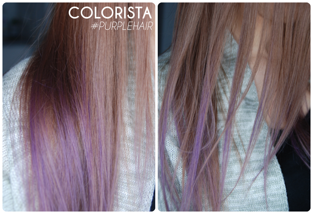 loreal colorista washout purplehair