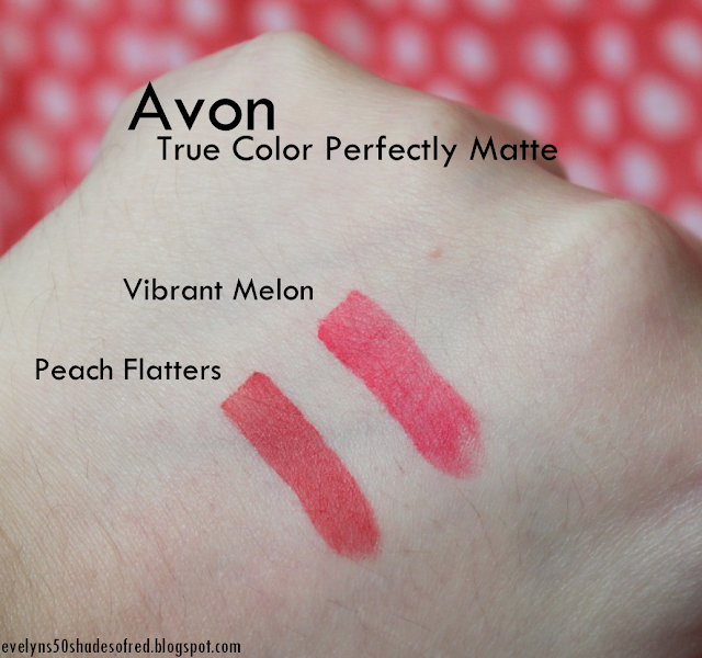 Avon True Color Vibrant Melon Peach Flatters