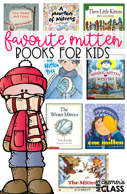 Kids favorite books about mittens- perfect for a winter theme in the classroom! Includes book study companion activities to go with each mitten book. Packed with fun literacy ideas and guided reading activities. Common Core aligned. K-2 #kindergarten #1stgrade #2ndgrade #bookstudy #bookstudies #winter #mittens #winterbooks #literacy #guidedreading #picturebookactivities #bookcompanion #bookcompanions #2ndgradereading #1stgradereading