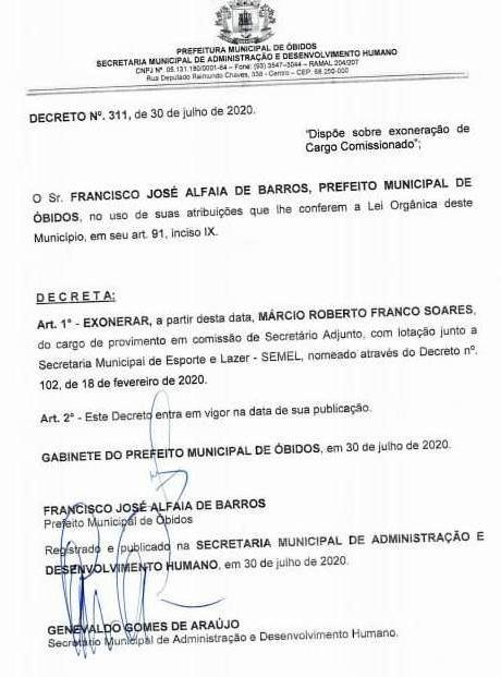 A saída de Belemita, secretário adjunto de Esporte e Lazer, já vinha sendo especulada há vários dias