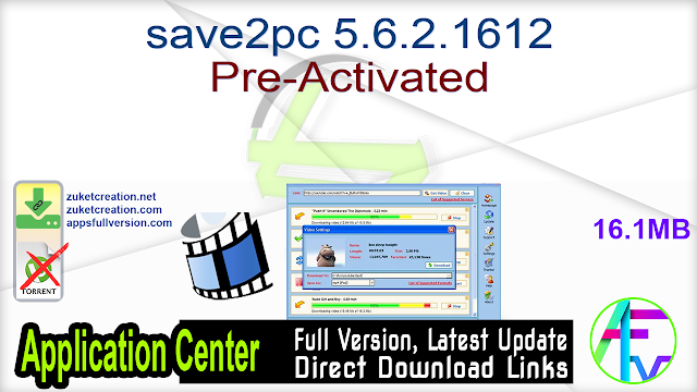 save2pc 5.6.2.1612 Pre-Activated