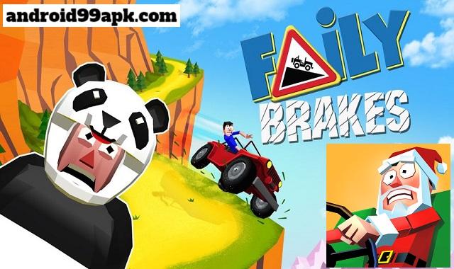 لعبة Faily Brakes v18.2 مهكرة بحجم 100 MB للأندرويد