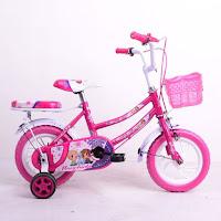 12 monchichi butterfly eva ctb sepeda anak