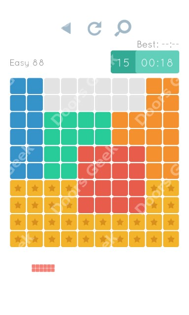 Cheats, Walkthrough for Blocks and Shapes Level 88