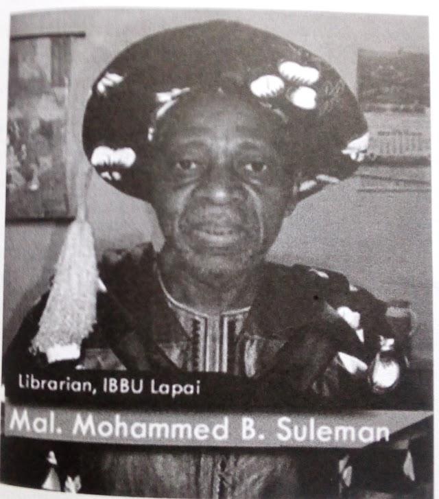 Biography:-Mallam Mohammed Bashir Suleman