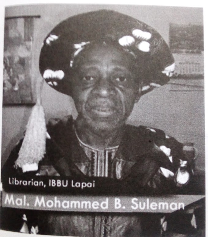 Biography:-Mallam Mohammed Bashir Suleman