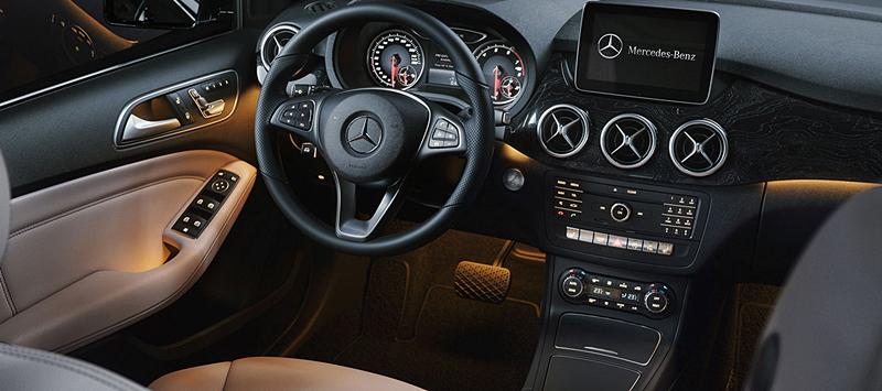 2018 Mercedes-Benz B-Class Interior