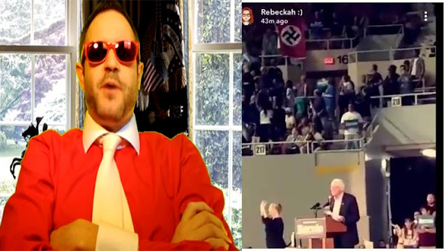 Who is Robert Sterkeson? Bio, Wiki, Age, Held Up Nazi Flag at Bernie Sanders' Event, Brother Shot