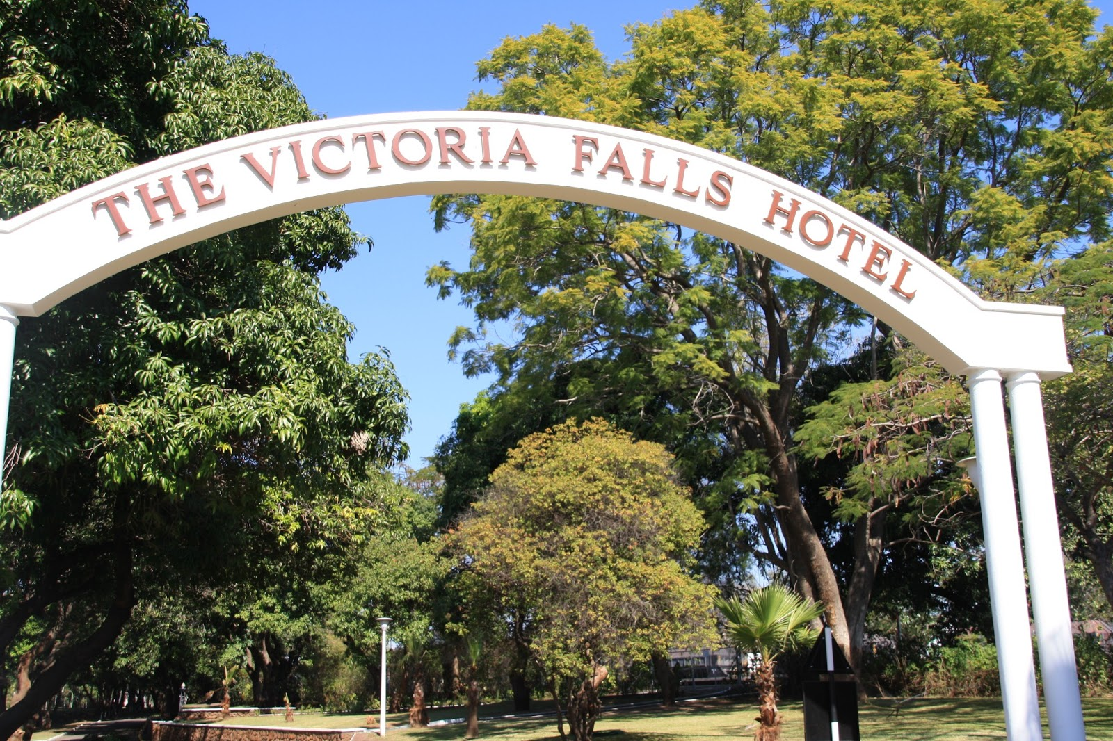 Rooms: Caroline Makes....: Afternoon Tea At The Victoria Falls