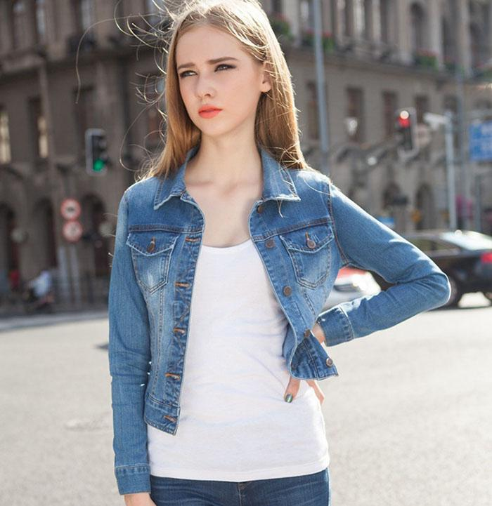 Jeans Jacket For Girls With Price