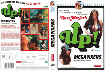 Carátula dvd: Megavixens Up! (1976)
