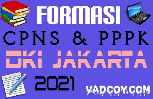 Formasi Lengkap CPNS dan PPPK Provinsi DKI Jakarta Tahun 2021