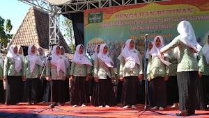 2000 Anggota Fatayat-Muslimat Pucakwangi Hadiri Rutinan
