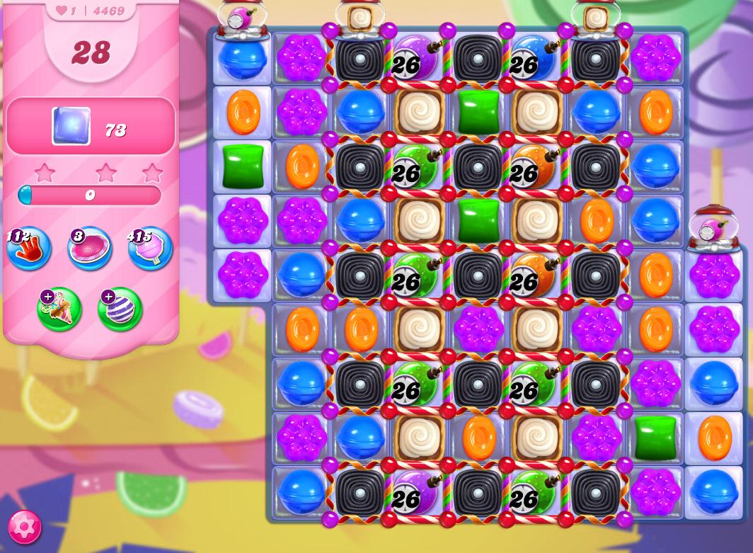 Candy Crush Saga level 4469