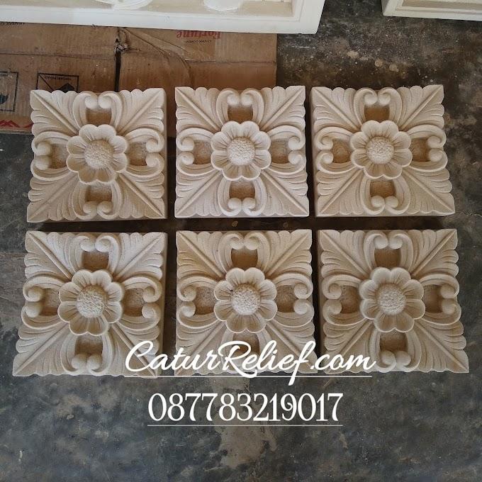 ornamen batu alam motif bali