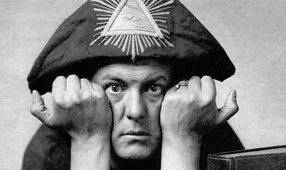 Aeister Crowley in Magician's attire