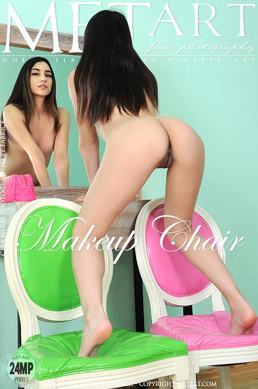 [Met-Art] Cira Nerri - Makeup Chair sexy girls image jav