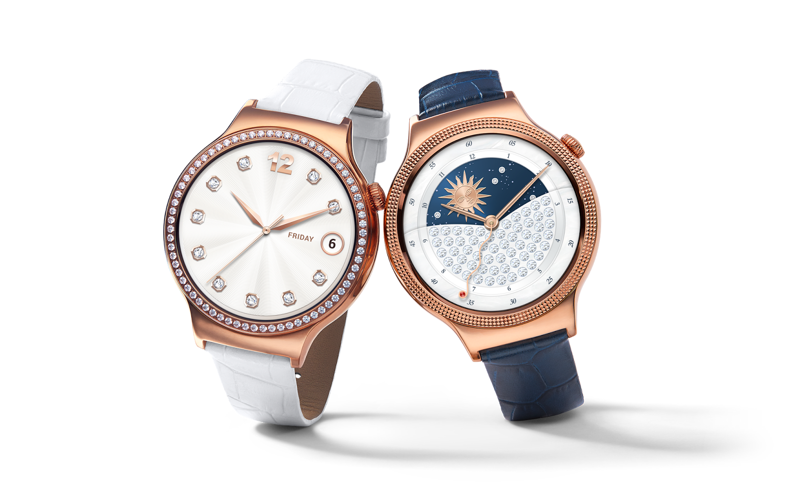 Huawei Watch Elegant ($449) and Jewel ($549) Available in the US