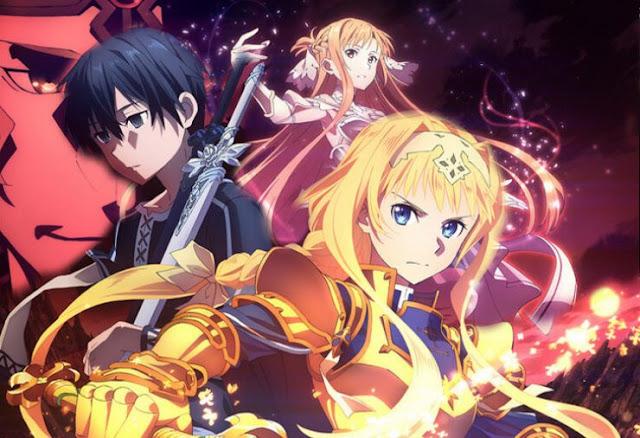 Sword Art Online: Alicization - War of Underworld Anime Está Confirmado para Abril