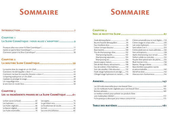 slow cosmetique le guide visuel