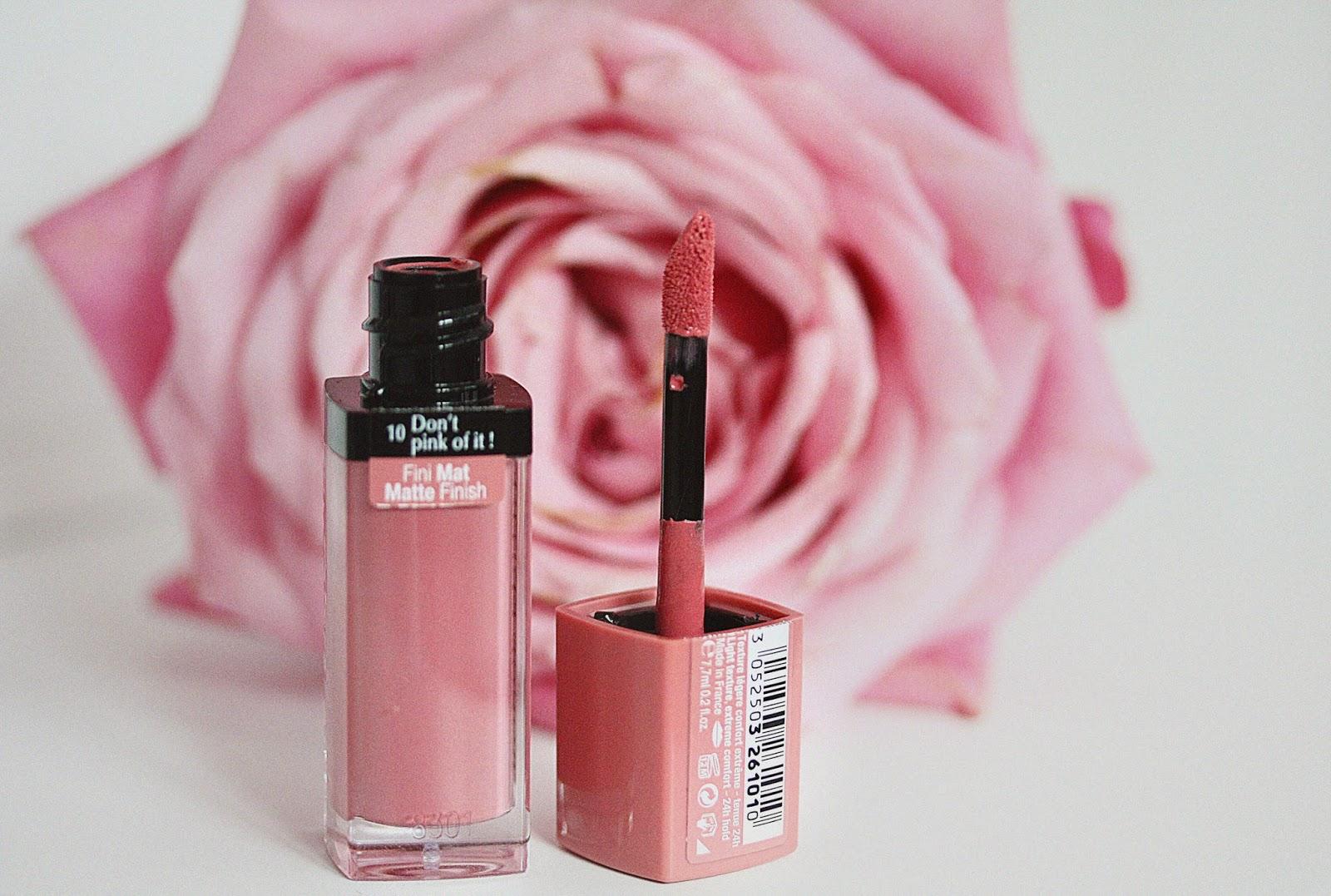 rosemademoiselle-bourjois-rouge edition rouge edition velvet