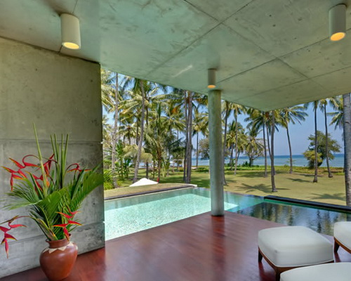 www.Tinuku.com Villa Sapi in Lombok Island designed by David Lombardi to blend ethnic and contemporary literature style