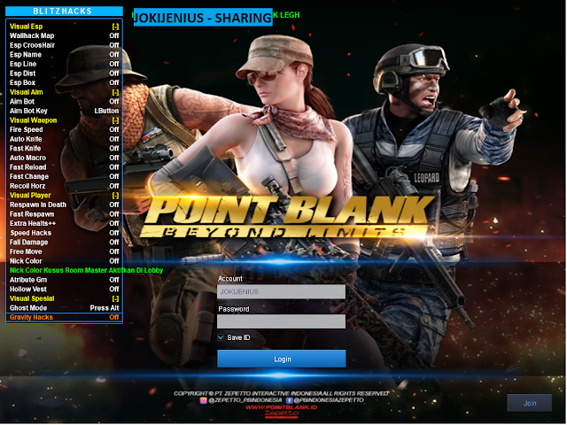 Cheat Point Blank Zepetto 23 Juni 2019