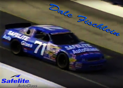 Dale Fischlein #71 Safelite Auto Glass Chevrolet Racing Champions 1/64 NASCAR diecast blog Dave Marcis 1993 PVC