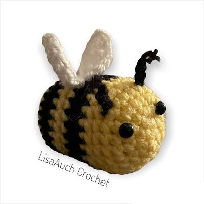 crochet bee- bumblebee crochet pattern free