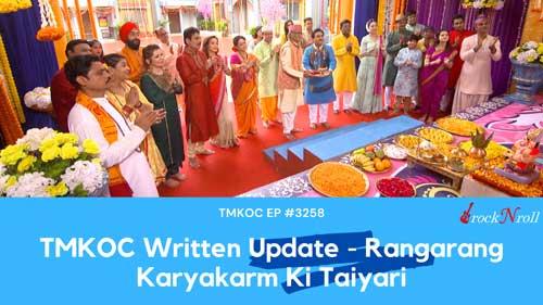 TMKOC-Written-Update-Rangarang-Karyakarm-Ki-Taiyari