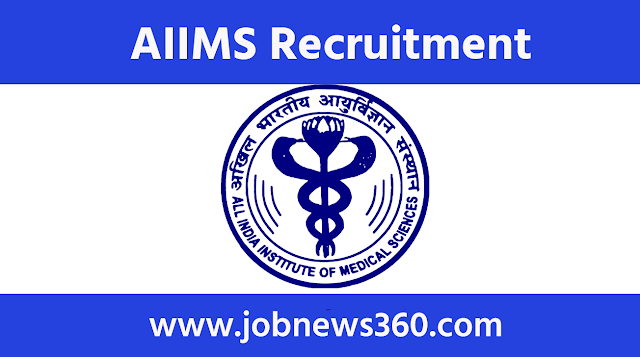 AIIMS New Delhi Recruitment 2020 for Junior Research Fellow