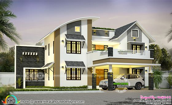 5 bedroom 3011 square feet modern house
