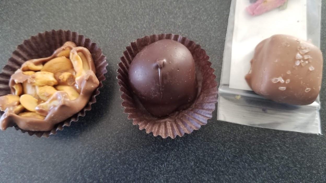 Chocolates from Alpine Chocolate Haus, Plymouth